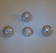 Ball Strass Silver